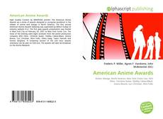 Bookcover of American Anime Awards