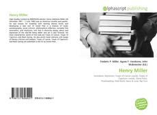 Обложка Henry Miller