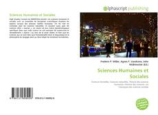 Bookcover of Sciences Humaines et Sociales