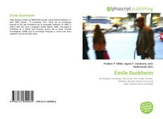 Bookcover of Émile Durkheim