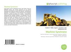 Bookcover of Machine Synchrone