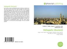 Couverture de Heliopolis (Ancient)