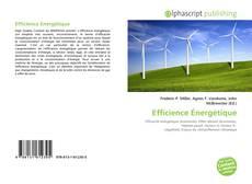 Couverture de Efficience Énergétique