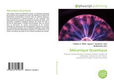 Mécanique Quantique kitap kapağı
