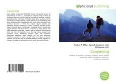 Bookcover of Canyoning