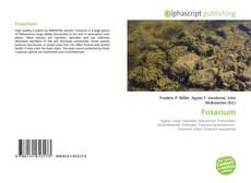 Capa do livro de Fusarium