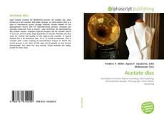 Acetate disc kitap kapağı