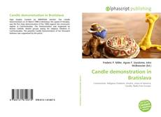Bookcover of Candle demonstration in Bratislava