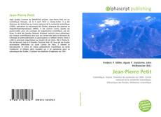 Capa do livro de Jean-Pierre Petit