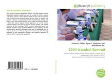 Bookcover of 2004 Istanbul Summit