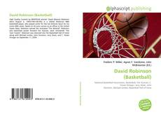 Capa do livro de David Robinson (Basketball)