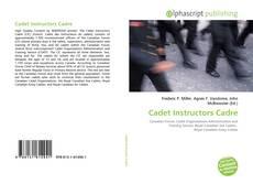 Couverture de Cadet Instructors Cadre