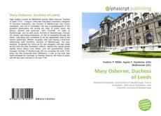 Bookcover of Mary Osborne, Duchess of Leeds
