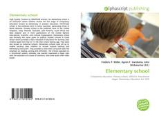 Bookcover of Elementary school