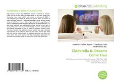 Bookcover of Cinderella II: Dreams Come True