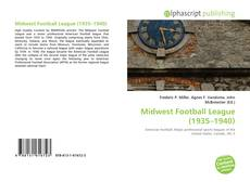 Обложка Midwest Football League (1935–1940)