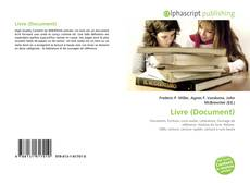 Bookcover of Livre (Document)
