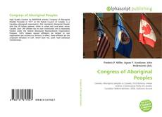 Bookcover of Congress of Aboriginal Peoples