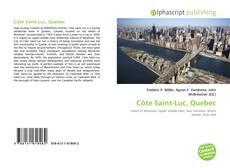 Обложка Côte Saint-Luc, Quebec