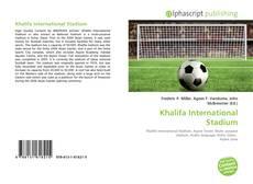 Khalifa International Stadium kitap kapağı