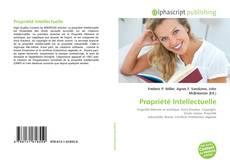 Обложка Propriété Intellectuelle