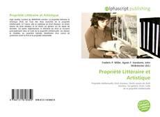 Copertina di Propriété Littéraire et Artistique