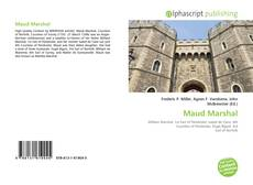 Bookcover of Maud Marshal