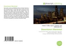 Bookcover of Downtown Montreal