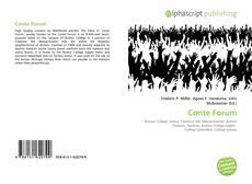 Buchcover von Conte Forum