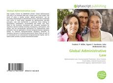 Bookcover of Global Administrative Law