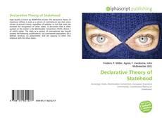 Borítókép a  Declarative Theory of Statehood - hoz