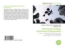Bookcover of Emmanuel College, University of Queensland