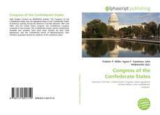 Couverture de Congress of the Confederate States