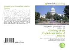 Couverture de Economy of the Confederate States of America