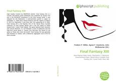 Bookcover of Final Fantasy XIII
