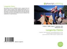 Bookcover of Longevity Claims