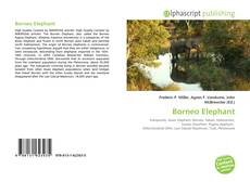 Bookcover of Borneo Elephant