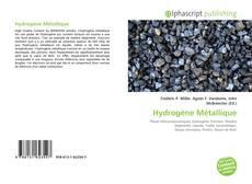 Hydrogène Métallique kitap kapağı