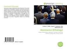 Buchcover von Dominance (Ethology)
