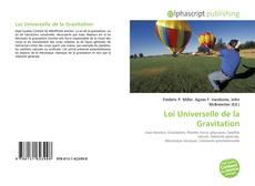 Bookcover of Loi Universelle de la Gravitation