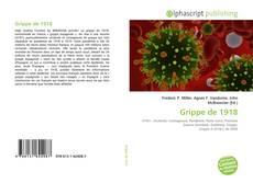 Обложка Grippe de 1918