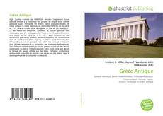 Grèce Antique kitap kapağı
