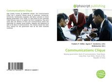 Bookcover of Communications Clique