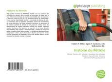Copertina di Histoire du Pétrole