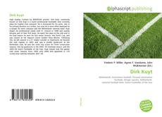 Dirk Kuyt kitap kapağı