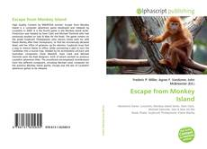 Capa do livro de Escape from Monkey Island