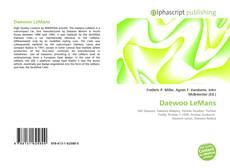 Copertina di Daewoo LeMans