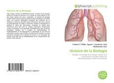 Histoire de la Biologie的封面