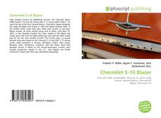 Bookcover of Chevrolet S-10 Blazer