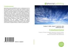 Bookcover of Créationnisme